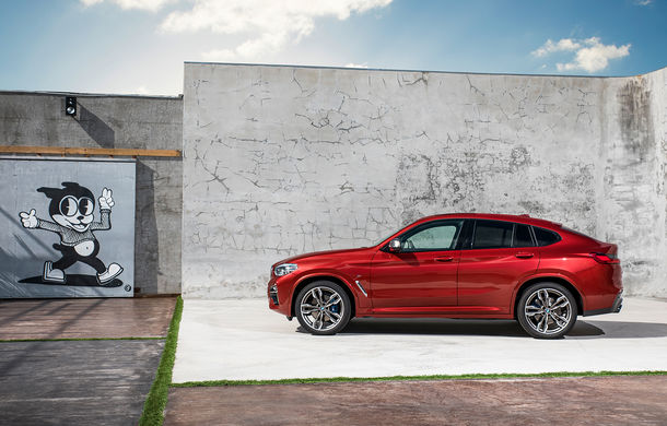 Noua generație BMW X4: design modificat, interior restilizat și versiune M40d cu 326 de cai putere - Poza 25