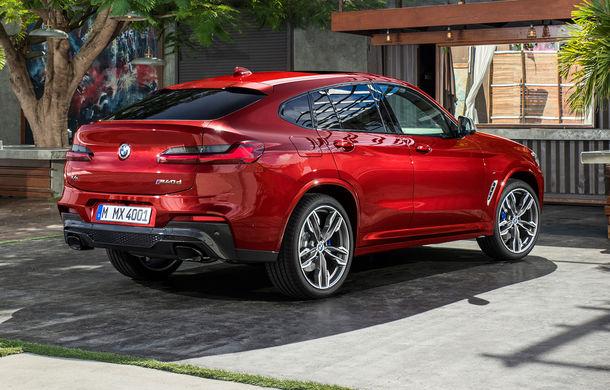 Noua generație BMW X4: design modificat, interior restilizat și versiune M40d cu 326 de cai putere - Poza 30