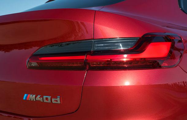 Noua generație BMW X4: design modificat, interior restilizat și versiune M40d cu 326 de cai putere - Poza 38