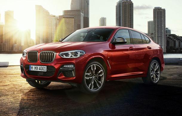 Noua generație BMW X4: design modificat, interior restilizat și versiune M40d cu 326 de cai putere - Poza 19