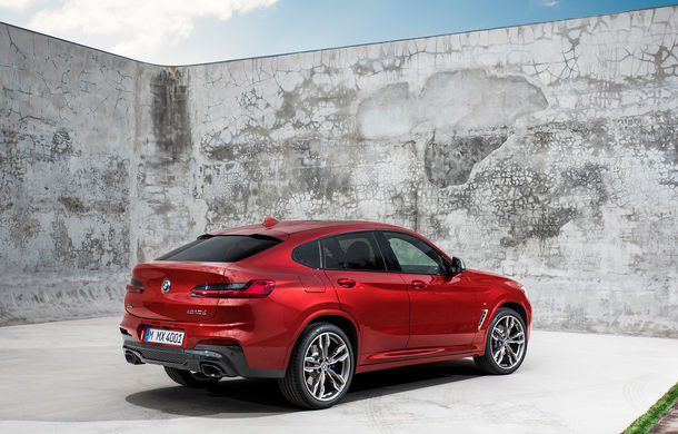 Noua generație BMW X4: design modificat, interior restilizat și versiune M40d cu 326 de cai putere - Poza 24