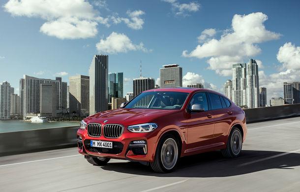 Noua generație BMW X4: design modificat, interior restilizat și versiune M40d cu 326 de cai putere - Poza 17