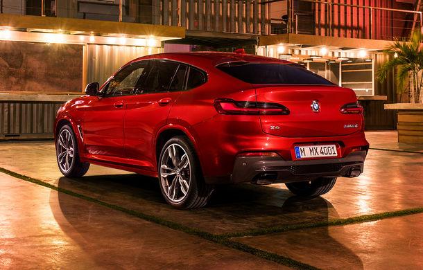 Noua generație BMW X4: design modificat, interior restilizat și versiune M40d cu 326 de cai putere - Poza 34
