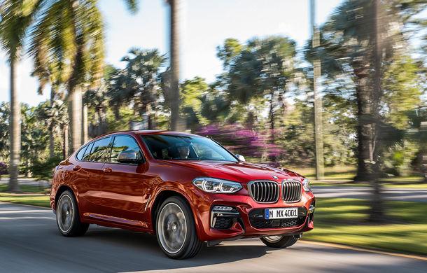 Noua generație BMW X4: design modificat, interior restilizat și versiune M40d cu 326 de cai putere - Poza 4