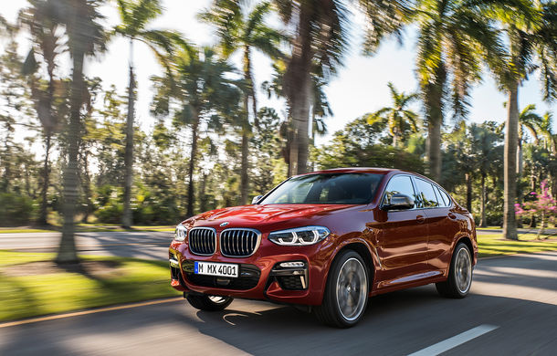 Noua generație BMW X4: design modificat, interior restilizat și versiune M40d cu 326 de cai putere - Poza 3