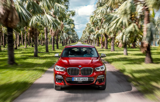 Noua generație BMW X4: design modificat, interior restilizat și versiune M40d cu 326 de cai putere - Poza 15