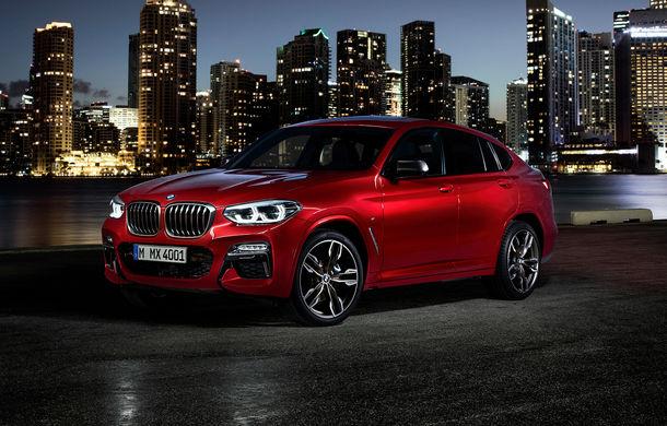 Noua generație BMW X4: design modificat, interior restilizat și versiune M40d cu 326 de cai putere - Poza 36