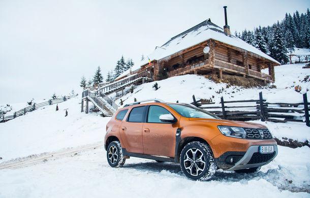Cu noul Duster în creierii munților: blestemul navigației, pierduți prin zăpadă și căldura de la Casa Răzeșilor - Poza 17
