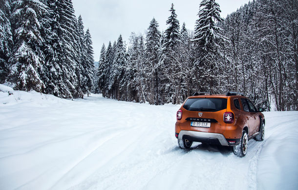 Cu noul Duster în creierii munților: blestemul navigației, pierduți prin zăpadă și căldura de la Casa Răzeșilor - Poza 10