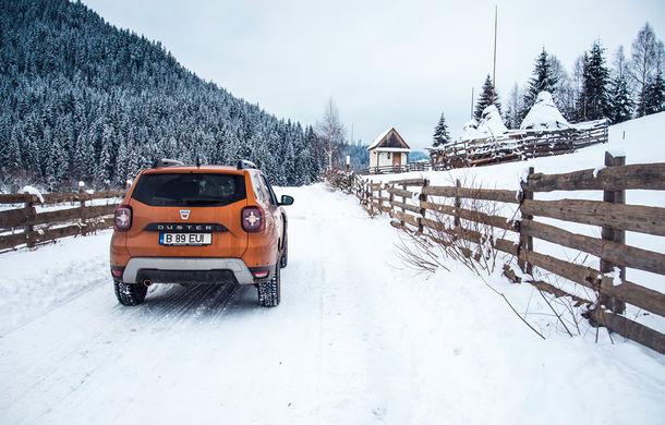 Cu noul Duster în creierii munților: blestemul navigației, pierduți prin zăpadă și căldura de la Casa Răzeșilor - Poza 8
