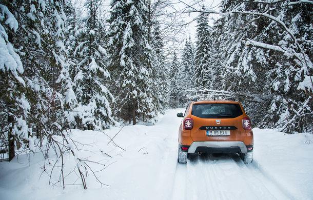 Cu noul Duster în creierii munților: blestemul navigației, pierduți prin zăpadă și căldura de la Casa Răzeșilor - Poza 13
