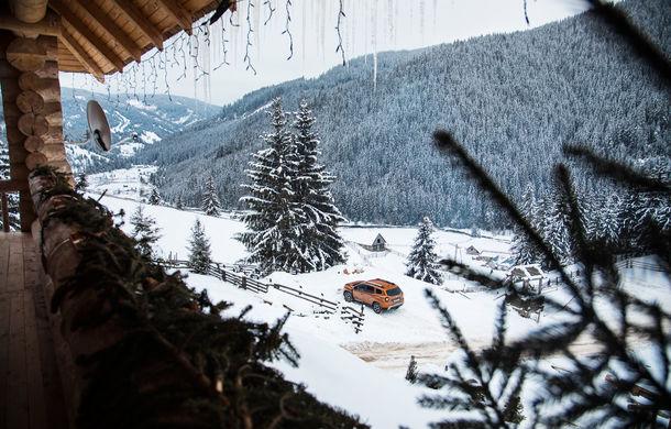 Cu noul Duster în creierii munților: blestemul navigației, pierduți prin zăpadă și căldura de la Casa Răzeșilor - Poza 16