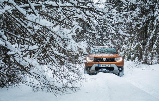 Cu noul Duster în creierii munților: blestemul navigației, pierduți prin zăpadă și căldura de la Casa Răzeșilor - Poza 12