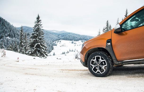 Cu noul Duster în creierii munților: blestemul navigației, pierduți prin zăpadă și căldura de la Casa Răzeșilor - Poza 45