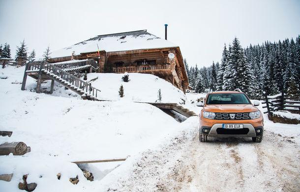 Cu noul Duster în creierii munților: blestemul navigației, pierduți prin zăpadă și căldura de la Casa Răzeșilor - Poza 20