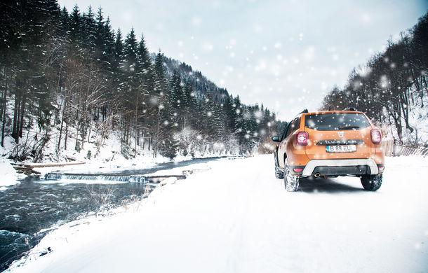 Cu noul Duster în creierii munților: blestemul navigației, pierduți prin zăpadă și căldura de la Casa Răzeșilor - Poza 47