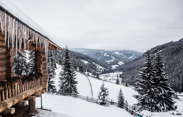 Cu noul Duster în creierii munților: blestemul navigației, pierduți prin zăpadă și căldura de la Casa Răzeșilor - Poza 25