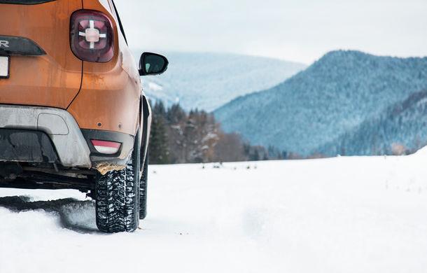 Cu noul Duster în creierii munților: blestemul navigației, pierduți prin zăpadă și căldura de la Casa Răzeșilor - Poza 50
