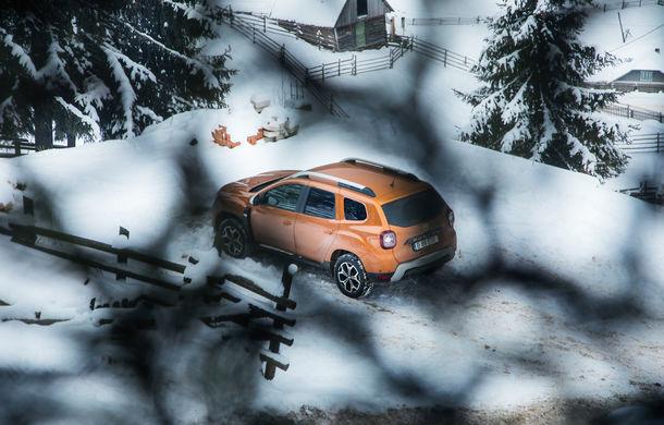 Cu noul Duster în creierii munților: blestemul navigației, pierduți prin zăpadă și căldura de la Casa Răzeșilor - Poza 18