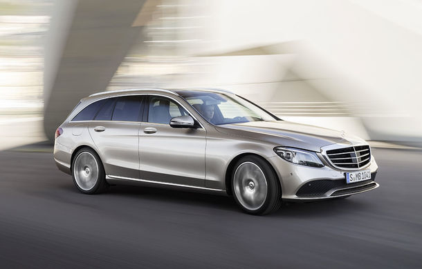 Găsiți diferențele: actualizare subtilă estetică și tehnologică pentru Mercedes-Benz Clasa C - Poza 11