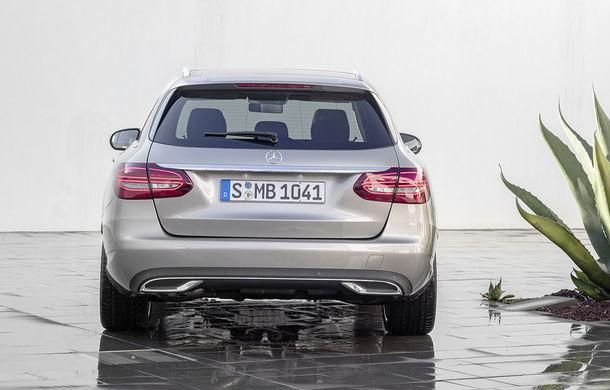 Găsiți diferențele: actualizare subtilă estetică și tehnologică pentru Mercedes-Benz Clasa C - Poza 16
