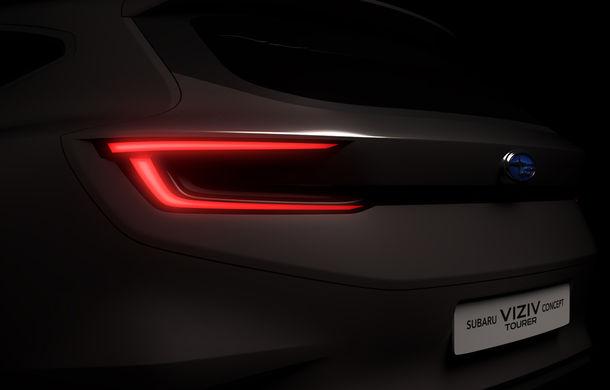 Subaru va prezenta un nou concept: Viziv Tourer anticipează lansarea unui break - Poza 1