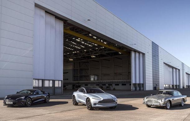 Aston Martin lucrează la finalizarea fabricii unde va fi produs SUV-ul DBX: primele prototipuri vor fi gata până la sfârșitul anului - Poza 1