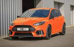 Actuala generație Ford Focus RS va ieși din producție în aprilie: britanicii primesc o ediție specială de adio cu motor de 370 de cai putere