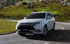 Mitsubishi Outlander facelift: japonezii dezvăluie primele imagini și informații despre versiunea plug-in hybrid