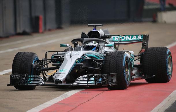 Mercedes a prezentat noul monopost pentru sezonul 2018: Hamilton, convins că va semna noul contract în martie - Poza 2