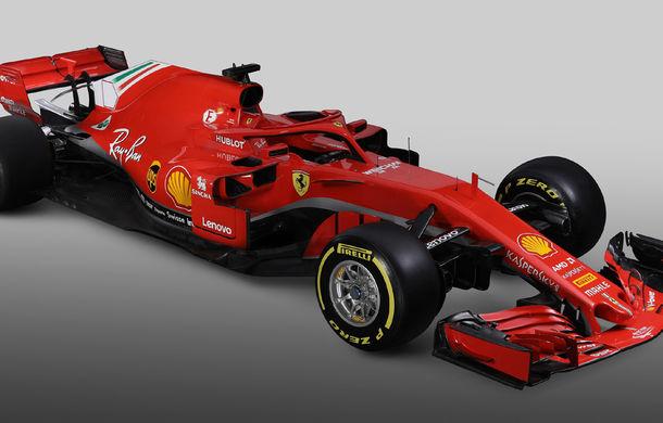 Ferrari dezvăluie monopostul cu care vrea să câștige primul titlu în Formula 1 după 10 ani: noutăți aerodinamice și modificări la suspensii - Poza 5