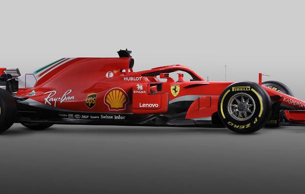Ferrari dezvăluie monopostul cu care vrea să câștige primul titlu în Formula 1 după 10 ani: noutăți aerodinamice și modificări la suspensii - Poza 4