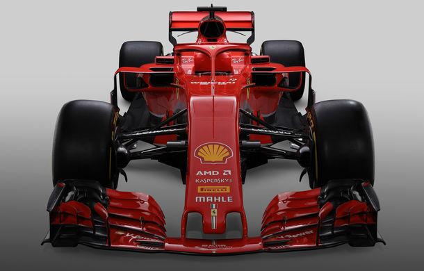 Ferrari dezvăluie monopostul cu care vrea să câștige primul titlu în Formula 1 după 10 ani: noutăți aerodinamice și modificări la suspensii - Poza 1