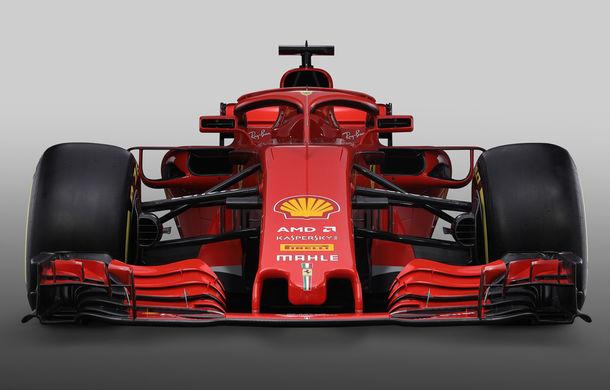 Ferrari dezvăluie monopostul cu care vrea să câștige primul titlu în Formula 1 după 10 ani: noutăți aerodinamice și modificări la suspensii - Poza 3