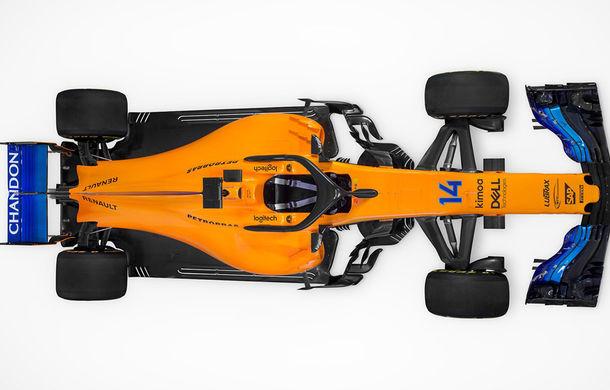 McLaren prezintă noul monopost pentru 2018: portocaliu cu nuanțe de albastru - Poza 3