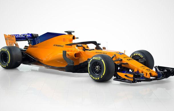 McLaren prezintă noul monopost pentru 2018: portocaliu cu nuanțe de albastru - Poza 2
