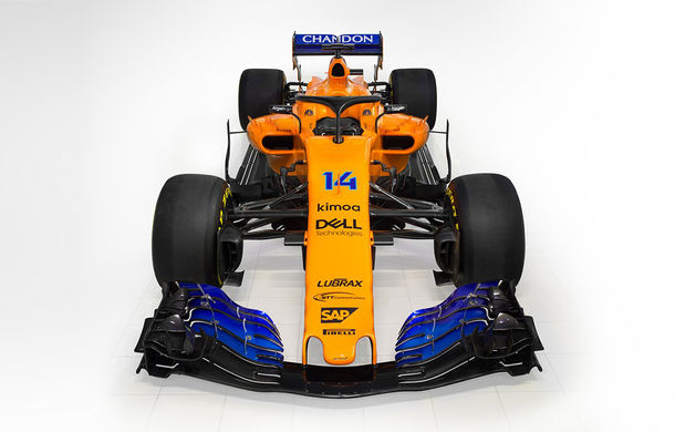 McLaren prezintă noul monopost pentru 2018: portocaliu cu nuanțe de albastru - Poza 1