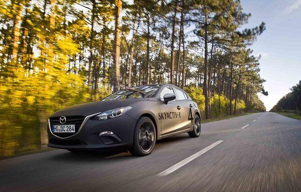 Am condus prototipul viitorului Mazda 3: povestea Skyactiv-X, motorul pe benzină cu consum de diesel - Poza 4