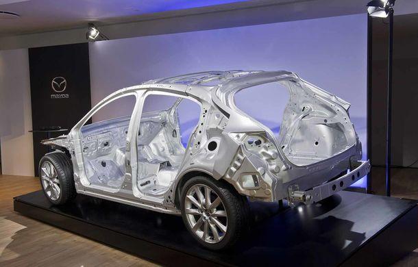 Am condus prototipul viitorului Mazda 3: povestea Skyactiv-X, motorul pe benzină cu consum de diesel - Poza 31