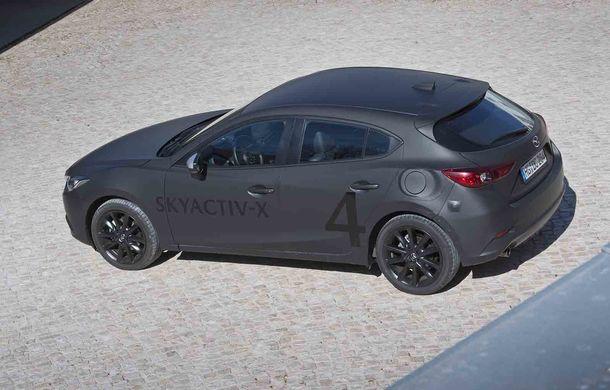 Am condus prototipul viitorului Mazda 3: povestea Skyactiv-X, motorul pe benzină cu consum de diesel - Poza 25