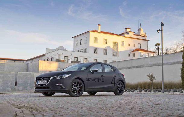 Am condus prototipul viitorului Mazda 3: povestea Skyactiv-X, motorul pe benzină cu consum de diesel - Poza 14