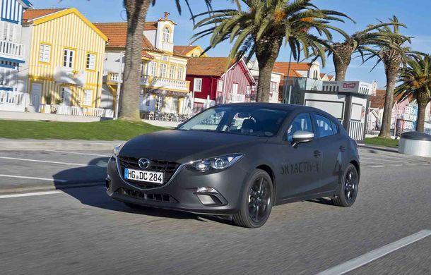 Am condus prototipul viitorului Mazda 3: povestea Skyactiv-X, motorul pe benzină cu consum de diesel - Poza 7