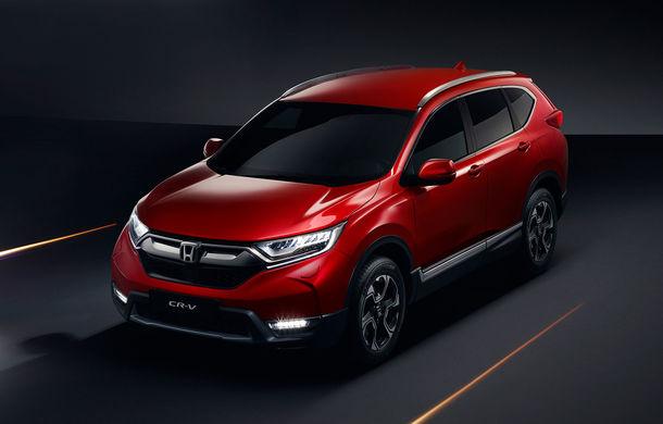 Noua generație Honda CR-V se lansează în Europa: SUV-ul japonez va avea o versiune hibridă, dar renunță la diesel - Poza 1
