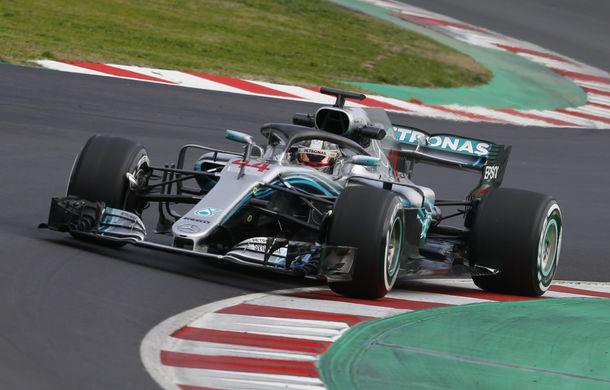 """Hamilton, cel mai rapid în ultima zi de teste de la Barcelona. Vettel: """"Mercedes este favorită în acest sezon"""" - Poza 1"""