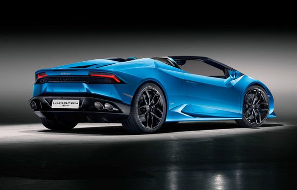 Primul teaser video cu viitorul Lamborghini Huracan Performante Spyder: supercar-ul producătorului italian debutează la Geneva - Poza 1