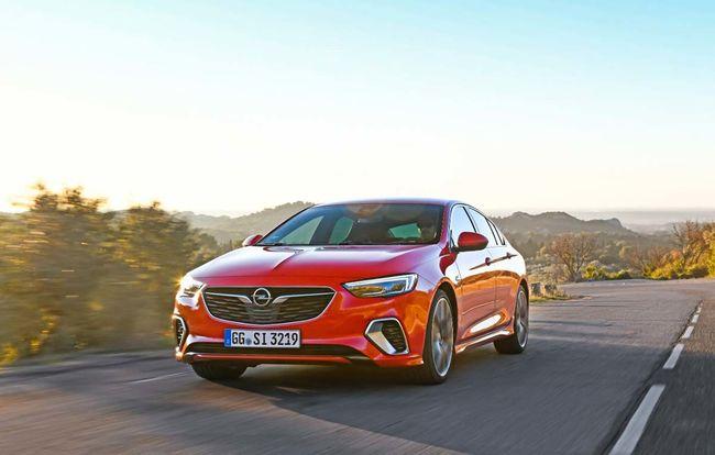 Test drive Opel Insignia