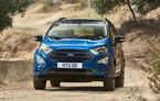 Producția Ford, de trei ori mai mare în ianuarie: americanii au produs 11.000 de unități Ecosport la Craiova