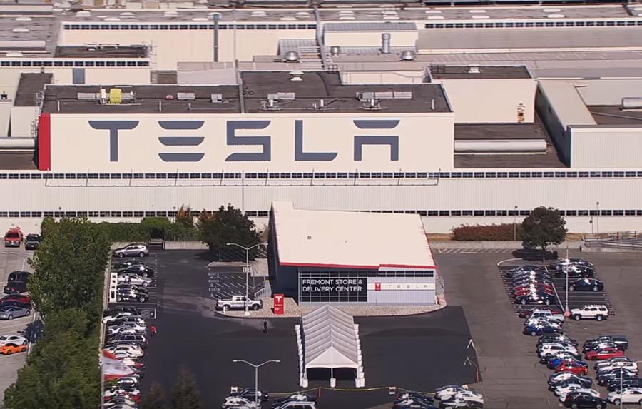 Mașini Quot Curate Quot Producție Quot Murdară Quot Fabrica Tesla Din