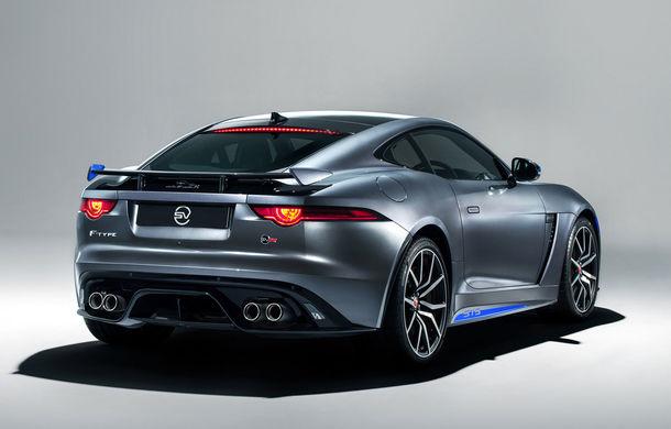 Jaguar F-Type SVR primește un pachet exterior din partea diziviei SVO: kit-ul este gratuit și poate fi comandat în șase teme diferite - Poza 3