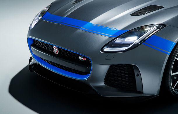 Jaguar F-Type SVR primește un pachet exterior din partea diziviei SVO: kit-ul este gratuit și poate fi comandat în șase teme diferite - Poza 4